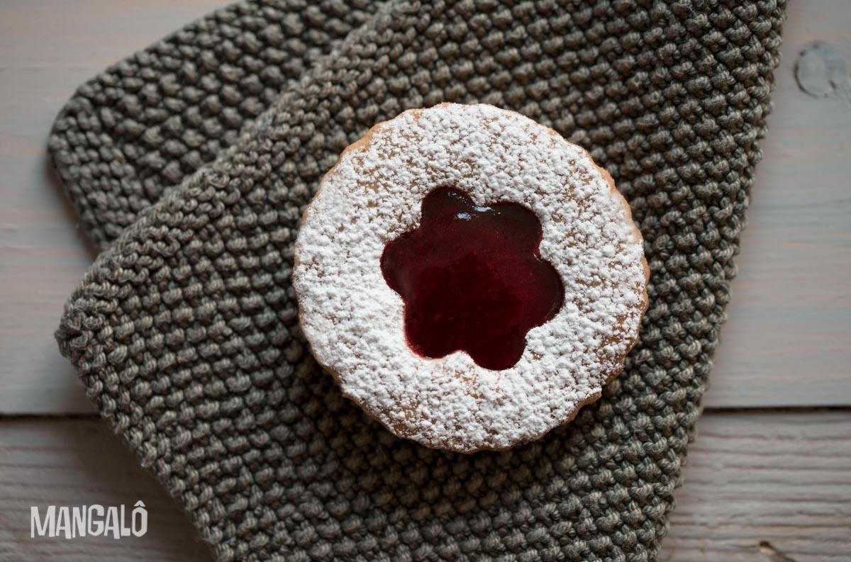 Biscoitos Linzer - blog mangalô