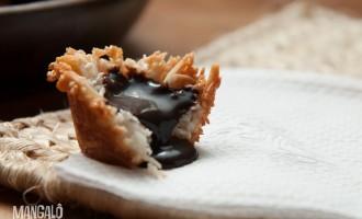 macaroons ou cestinhas de coco